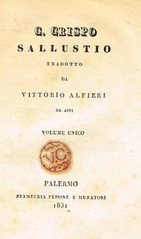 C.Crispo Sallustio tradotto da Vittorio Alfieri da Asti