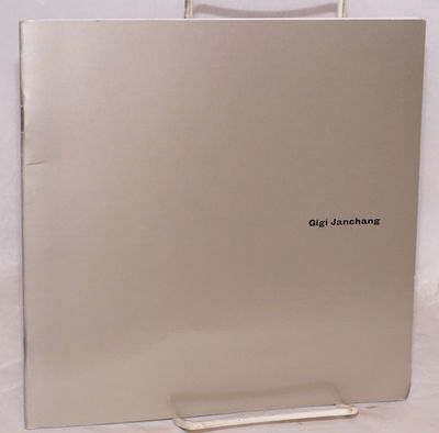 San Francisco: Walter/McBean Gallery, 1998. 20p., staplebound 8x8 inch glossy silver wraps titled bl...
