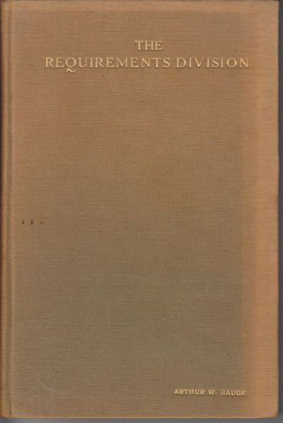 Washington (DC): n.p.. December, 1918. First Edition; First Printing. Hardcover. Veruy good with mil...