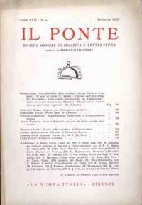 IL PONTE - FEBBRAIO 1961
