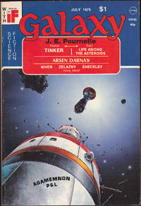 Galaxy, July 1975 (Volume 36, Number 6) by James Baen; Jerry Pournelle; Jon DeCles; Robert Sheckley; William Chait; Arsen Darnay; Sam Nicholson - Paperback - July 1975 - from Books of the World (SKU: RWARE0000001831)