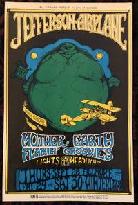 (Rock Poster) JEFFERSON AIRPLANE. Fillmore Auditorium 1967