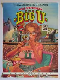 The BIG U : Promotional Poster by  Neal Stephenson - Paperback - First Edition - from Dale Steffey Books and Biblio.co.uk