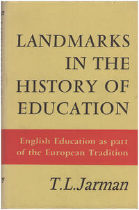 Landmarks in the History of Education: English Education as Part of the European Tradition