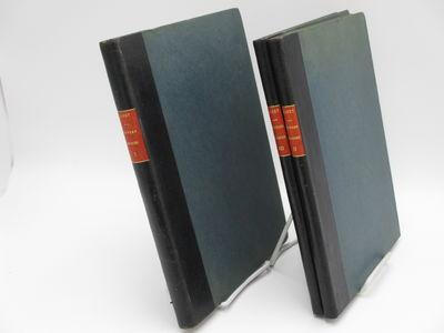 Paris.: Henry Lemoine & Cie. , 1919-1921. Quarter black leather over blue cloth boards, red spine la...