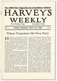 image of Harvey's Weekly. Vol. 3, no. 21 (week ending May 22, 1920) -