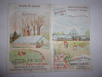 Printed Trade Card for Hitchings &...