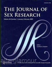 THE JOURNAL OF SEX RESEARCH; A Publication of the Society for the Scientific Study of Sexuality