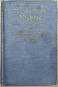 image of Calendar of Dinners with 615 Recipes, Including the Story of Crisco