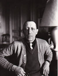 image of Original photograph of Igor Stravinsky, 1934