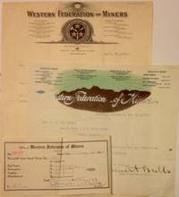 [Three items related to the Pony, Montana local of the Western Federation of Miners]