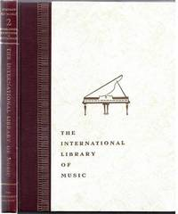 The International Library of Music for Home and Studio.  Music Literature Volume II:  The History of Music
