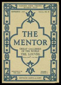 image of THE MENTOR - THE LOUVRE - Great Galleries of the World - September 1 1915 - Serial Number 90 - Volume 3, number 14