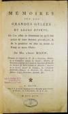 View Image 2 of 10 for Memoires Sur Les Grandes Gelees et Leurs Effets; Ou L'on Essaie De Determiner Ce Qu'il Faut Croire D... Inventory #27105