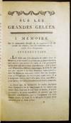 View Image 4 of 10 for Memoires Sur Les Grandes Gelees et Leurs Effets; Ou L'on Essaie De Determiner Ce Qu'il Faut Croire D... Inventory #27105