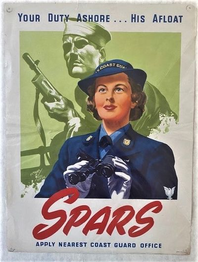 SPARS RECRUITING POSTER
