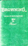 Browning Dates of Manufacture