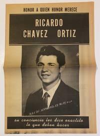image of Honor a quien honor merece: Ricardo Chavez Ortiz. Su conciencia les dice exectito lo que deben hacer
