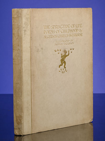 London: William Heinemann, 1918. Signed Limited Edition . SWINBURNE, Algernon Charles. The Springtid...