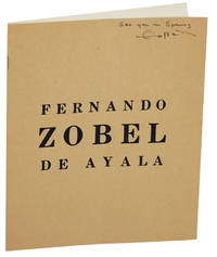 Paintings & Drawings by Fernando Zobel De Ayala (Signed First Edition)