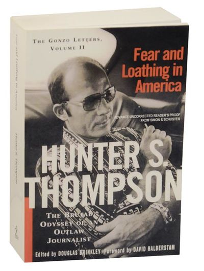 New York: Simon & Schuster, 2000. First edition. Softcover. Uncorrected proof in glossy wrappers. A ...
