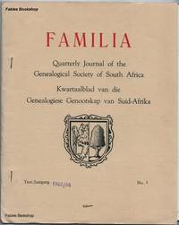FAMILIA. 1965/66 No.3 by  C. (Ed) Pama - Paperback - from Fables Bookshop and Biblio.com