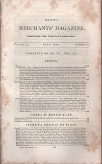 Hunt's Merchants' Magazine. Volume XL, No. 6. October 1859