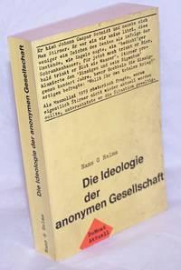 image of Die Ideologie der anonymen Gesellschaft: Max Stirners