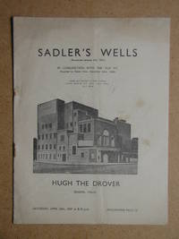 Hugh The Drover. Theatre Programme. by Sadler's Wells - Paperback - 1938 - from N. G. Lawrie Books. (SKU: 37482)