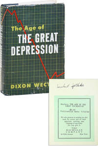 The Age of the Great Depression 1929-1941 [Herbert Aptheker's review copy, with his annotations]