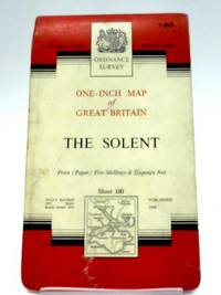 image of Ordnance Survey One-Inch Map Of Great Britain: Sheet 180 The Solent