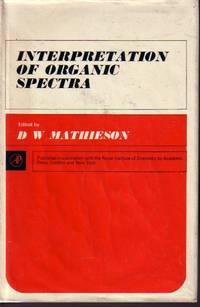 image of Interpretation Of Organic Spectra