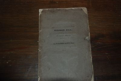 Edinburgh: Archibald Constable, 1822. First Edition. 8vo, pp. 112, with publisher's catalogue tipped...