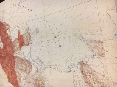 US Geological Survey, 1906. Map. Color lithograph. 37