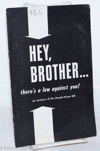 image of Hey, brother, there's a law against you!
