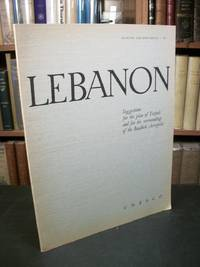 Lebanon: Suggestions for the Plan of Tripoli and for the Surroundings of the Baalbek Acropolis (Museums and Monuments VI)