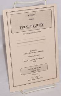 image of An essay on the trial by jury