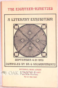 London: National Book League, 1973. stiff paper wrappers. 8vo. stiff paper wrappers. 204 pages with ...
