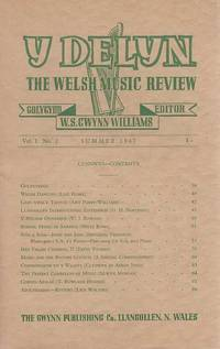 Y Delyn. The Welsh Music Review