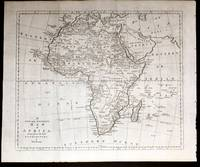 Accurate Map Of Africa.A New And Accurate Map Of Africa Drawn From The Best Authorities By