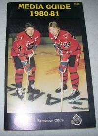 image of Edmonton Oilers Media Guide 1980-81 (Wayne Gretzky on cover)
