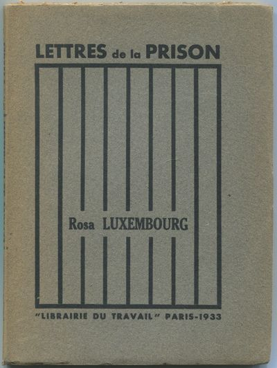 Paris: Librairie du Travail, 1933. Softcover. Near Fine. Second edition. Octavo. Printed gray wrappe...