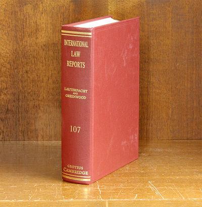 1997. ISBN: 9780521580694. International Law Reports. Volume 107. Editors: E.Lauterpacht; C.J. Green...