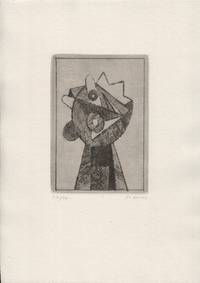 image of FG 1973. Cycle of four drypoint etchings, signed, laid into original printed folder