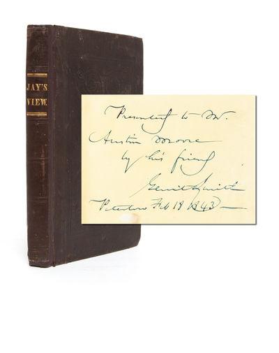 New York: American Anti-Slavery Society, 1839. Second edition. Original publisher's cloth binding re...