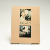 DBA at 70 by  editor Jonathan Williams - First - 1989 - from Black Mountain College Museum + Arts Center Bookstore (SKU: 47)