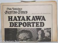 image of San Francisco Express Times: vol. 1, #47, December 11, 1968; Hayakawa Deported