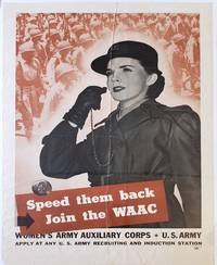 Women's Army Auxiliary Corps in WWII Recruitment Poster -1943