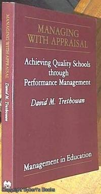 image of Managing with Appraisal; Achieving Quality Schools Through Performance Management (Management in Education)