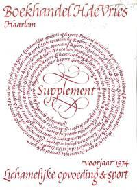 Ca.t no. no./1974: Lichamelijke Opvoeding en Sport. Supplement.